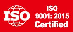 iso 9001 certified badge